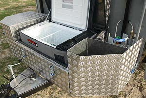 Camper Trailer Grand Tourer Solar Panels